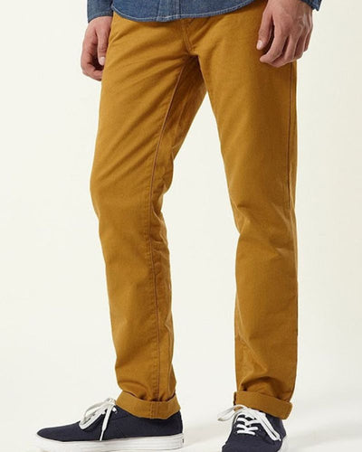 Branded Brown Denim Jeans for Men - By LOSAN DENIM