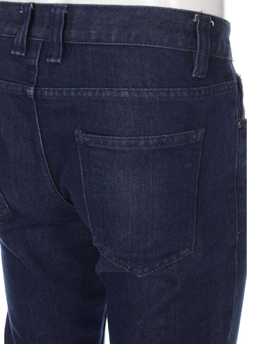Branded Dark Blue Denim Jeans By IDENTIC for Men - ORIGINAL IDENTIC BRAND