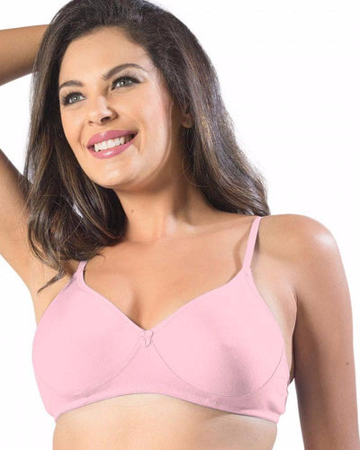 Sonari Smile Bra - Pink - Non Padded Non Wired - Imported Bra - Bras - diKHAWA Online Shopping in Pakistan