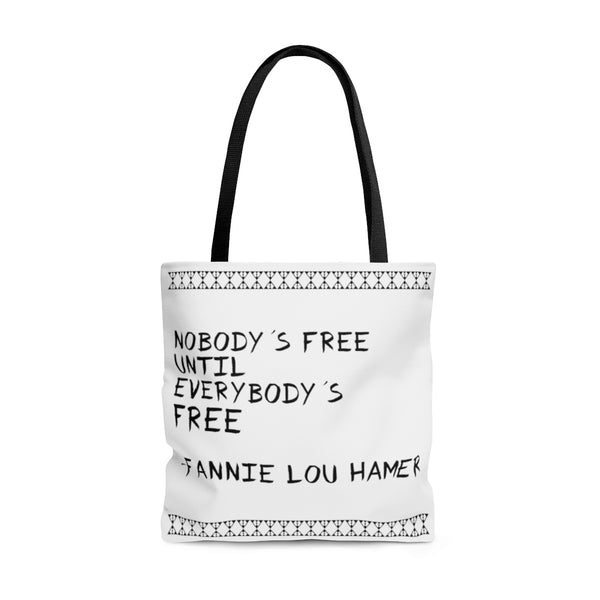 Fannie Lou Hamer 'Nobody's Free' Statement Tote