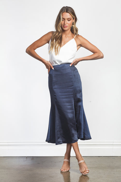 DELILAH SKIRT - NAVY