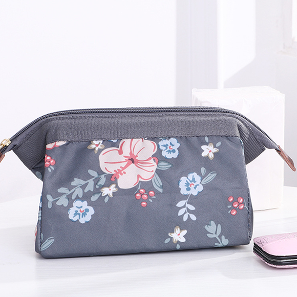 Floral Prints Portable Mini Makeup Bag