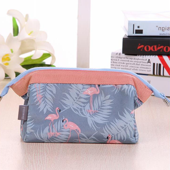 Printed Waterproof Traveller Cosmetics Bag