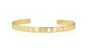 Moon phase Bangle