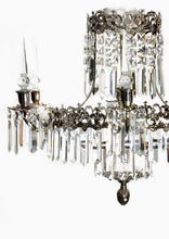 Bathroom Chandeliers - Nickel Bathroom Chandelier With Crystals