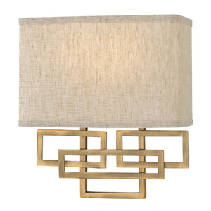 Oil rubbed bronze Patterned Wall Light
