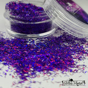 Purple Holographic Tinsel