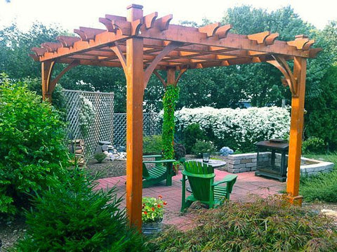 Outdoor Living Today Outdoor Living Today Breeze Pergola Kit 10' x 12'