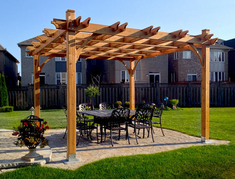Outdoor Living Today Outdoor Living Today Breeze Pergola Kit 12' x 12'