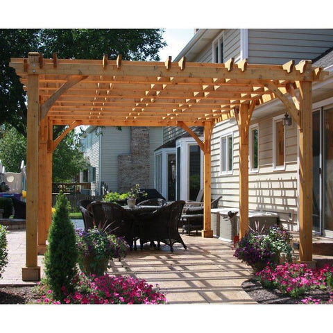 Outdoor Living Today Outdoor Living Today Breeze Pergola Kit 12' x 20'