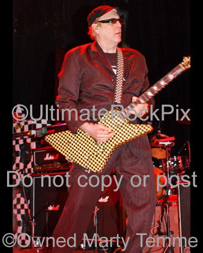 Photos of Guitar Player Rick Nielsen of Cheap Trick in Concert in 2006 by Marty Temme