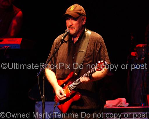 Photos of Musician Dave Mason in Concert in 2007 by Marty Temme