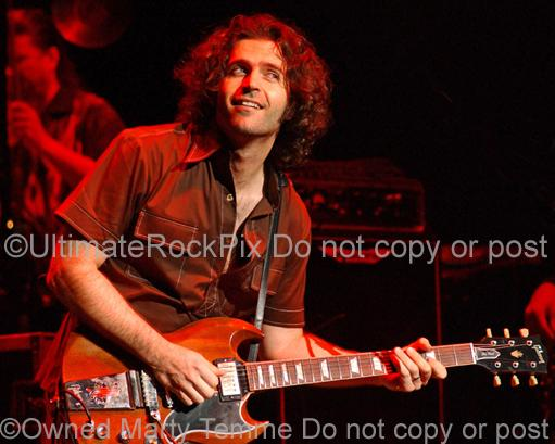 Photos of Guitarist Dweezil Zappa in Concert in 2006 by Marty Temme