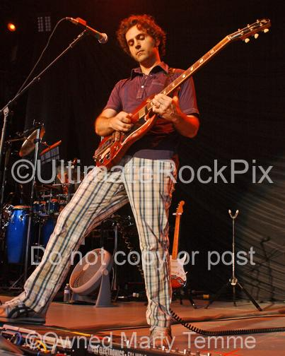 Photos of Guitarist Dweezil Zappa in Concert by Marty Temme
