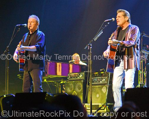 Photos of Glenn Frey and Don Henley of The Eagles Performing in Concert by Marty Temme