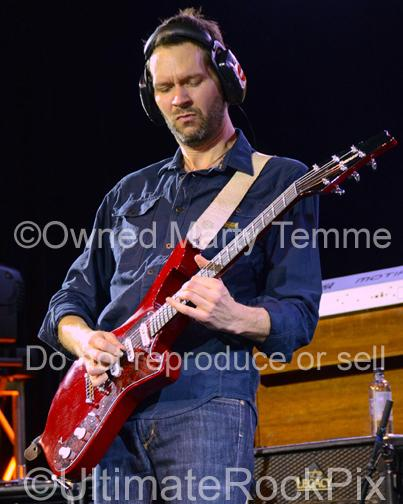 Photos of Guitar Player Paul Gilbert of Mr. Big in Concert in 2012 in Los Angeles, California by Marty Temme