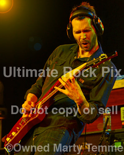 Photo of guitar player Paul Gilbert of Mr. Big performing in concert in 2012 - gilbert129437y