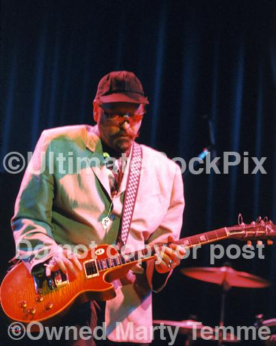 Photos of Guitar Player Rick Nielsen of Cheap Trick in Concert in 1997 by Marty Temme