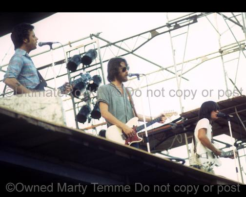 Photos of Richie Furay, Chris Hillman and J.D. Souther of The Souther Hillman Furay Band in Concert in 1974 by Marty Temme