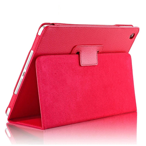 Ultra Thin Magnetic Flip Leather Case For iPad