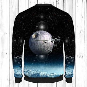 Death Star Art Sweatshirt