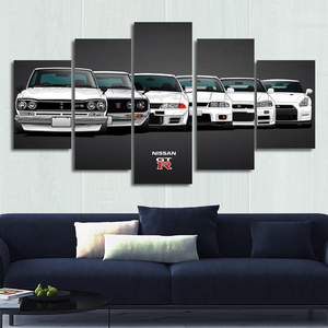 Nissan Skyline / GTR Canvas Wall Art