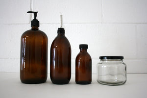 500ml Clear Glass Jar