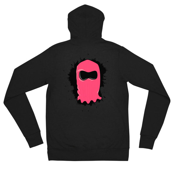 [ Splat ] Limited Edition Zip Hoodie - Black - FTATEHIG