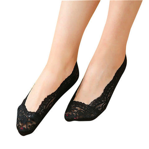 Lace Shoe Liners in a Variety of Colors