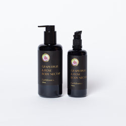 Grapefruit and Rose Body Nectar by Earth Tonic