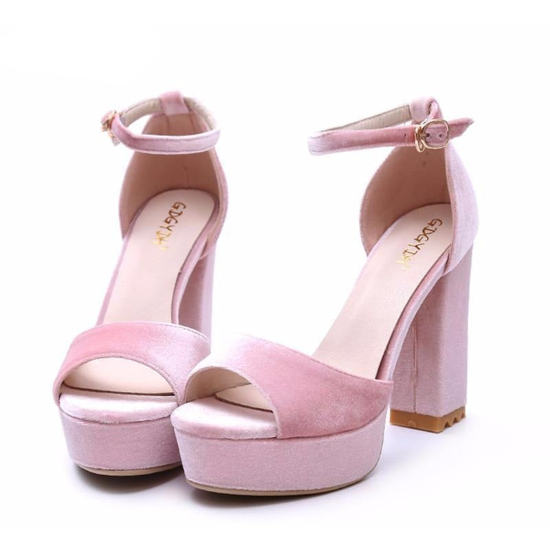 Betty Peep Sandals