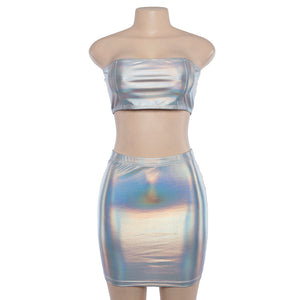 Holographic Festival Two Piece