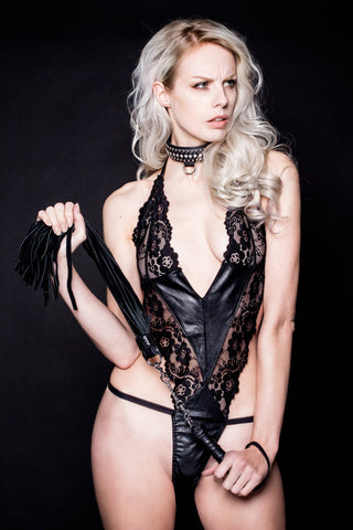 Leather Sense Chained Set