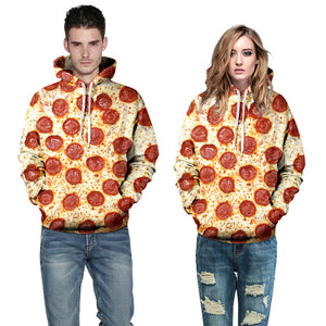 Delicious Pepperoni Pizza Hoodie
