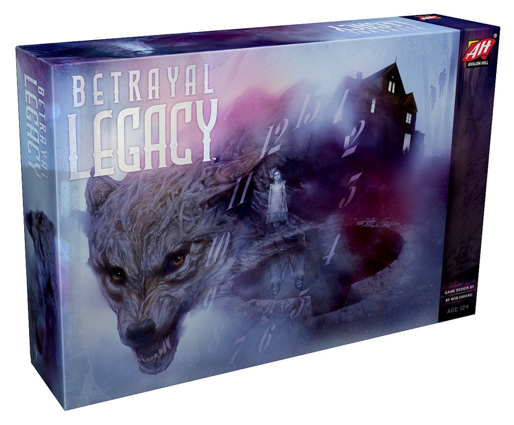 BETRAYAL AT THE HOUSE ON THE HILL - LEGACY