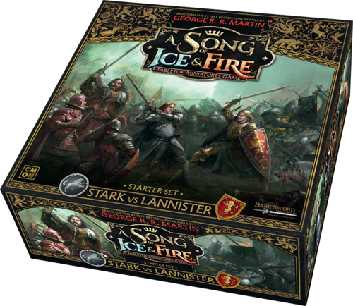GAME OF THRONES - A SONG OF ICE & FIRE: STARTER SET (STARK VS LANNISTER)