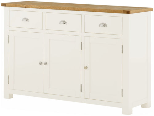 Cottage Large Sideboard White - Tylers Department Store