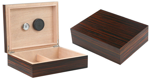 The Vizcaya Ebony Humidor