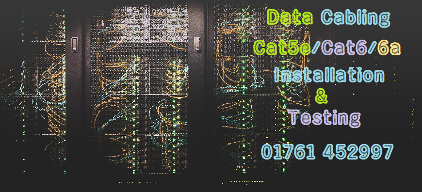 Cat5, Cat5e, Cat6, Cat6a, Network Cabling, North Somerset