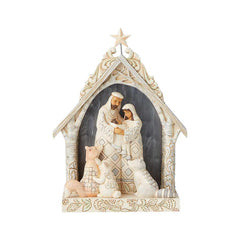 Woodland Lighted Nativity