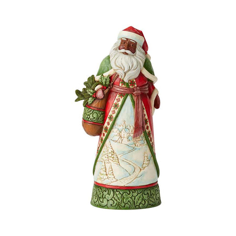 AA Santa with Winter Scene