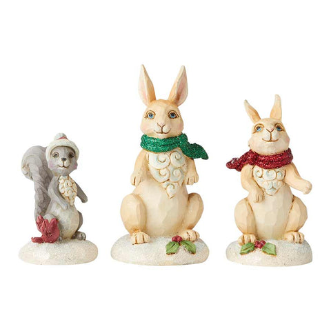 Wonderland Animals 3 Pc Set