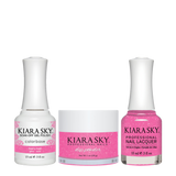 Kiara Sky 3in1 Dipping Powder + Gel Polish + Nail Lacquer - Electro Pop Collection, DGL 620, That's Phat