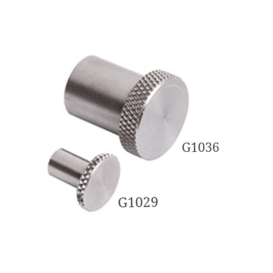 G1029 and G1036<br> Flat Attachment<br> Mark-10, Force Gauge Attachments