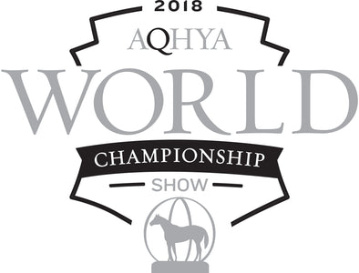 2018 Youth World Show YWS logo Black and Grey