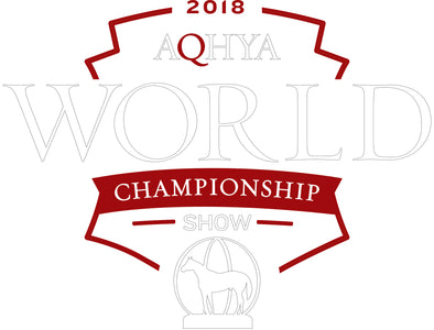 2018 Youth World Show YWS logo White and Red