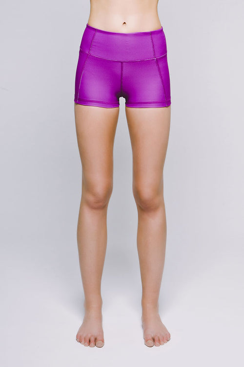 Perfect Fit Mini Short - Vibrant Electric Orchid