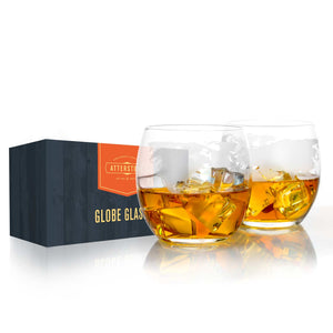 Whiskey Glasses with Retail Box