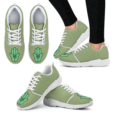 KarmaKickz-Women's Athletic Shoes-Hamsa-Daywalker Series
