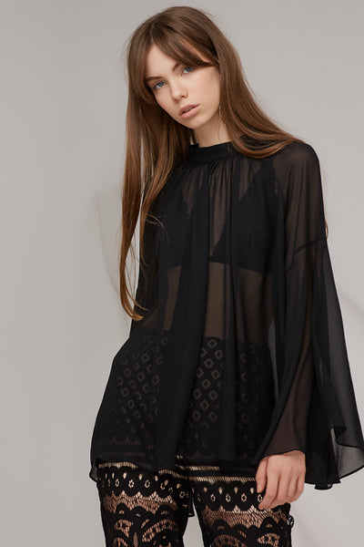 Keepsake The Label - Bridges Long Sleeve Top - Lalabazaar